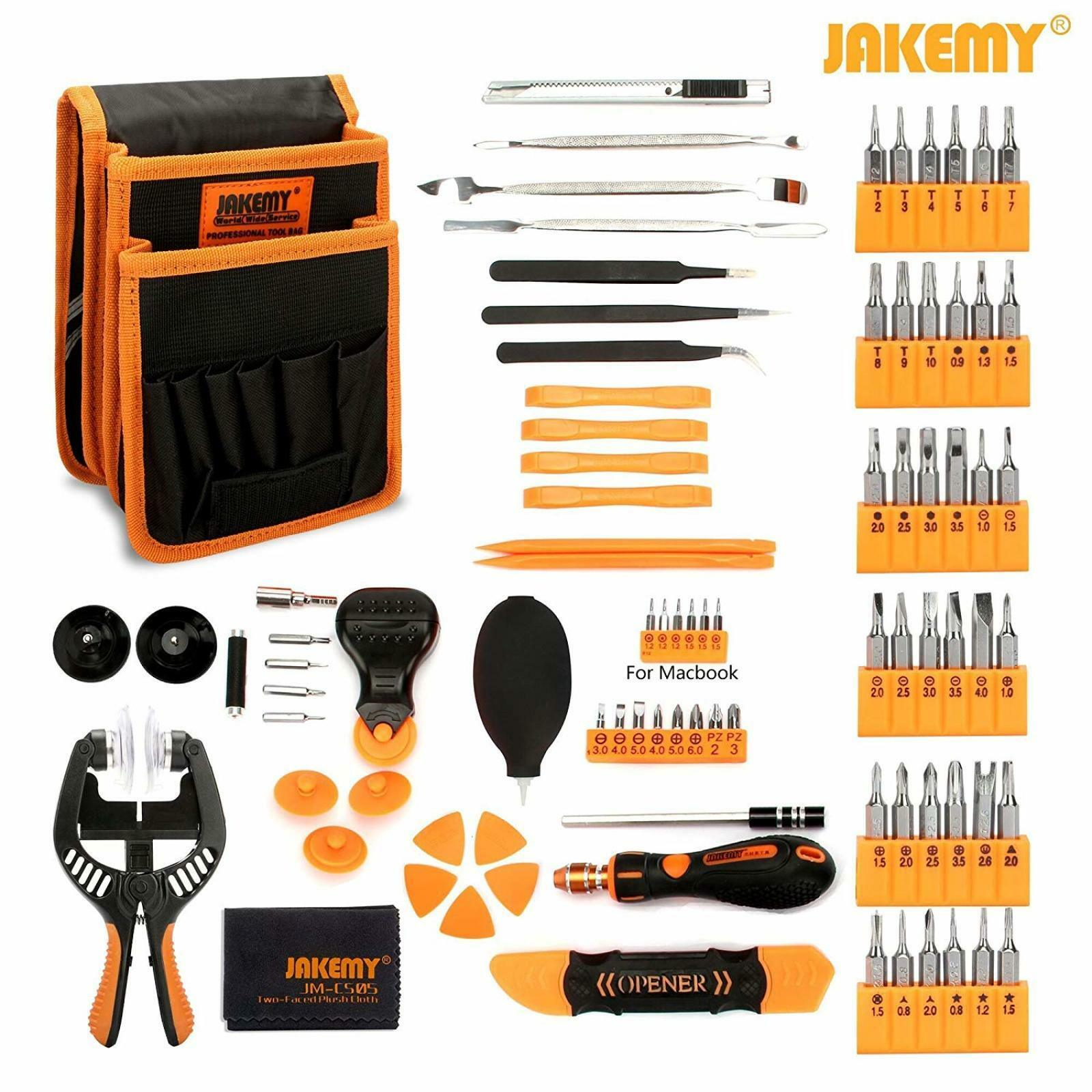 Screwdriver Set, 89 in 1 with 54 Magnetic Precision Driver Bits, Screwdriver