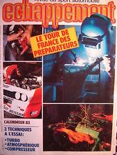 revue ECHAPPEMENT 1983 ALFETTA GTV 6 PRODUCTION + GIUILIETTA 2.0 / TOYOTA SUPRA