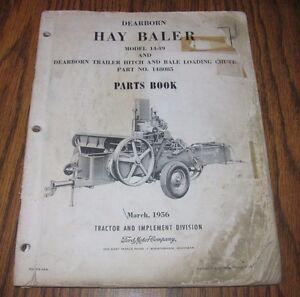 ford 530 baler parts on ebay manual