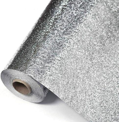 Large Aluminum Removable Kitchen Wall Stick On Cooker Stove Splash Back Paper