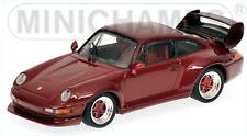 MINICHAMPS 1/43rd ~ Porsche 911 GT2 1995 ~ Red Metallic ~ 430 065005 ~ NEW