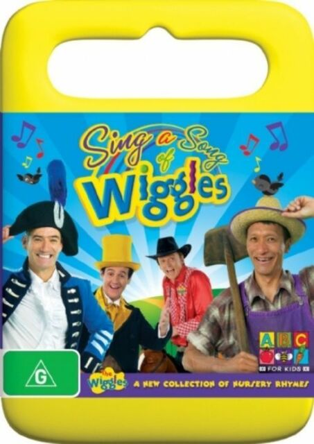 The Wiggles - Sing A Song Of Wiggles (DVD, 2008) Region 4 Acceptable Condition!
