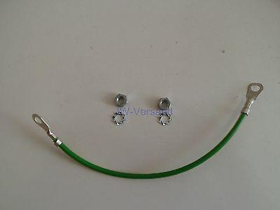 GemäßIgt Erdungskabel 4mm² 20cm Für Netzwerkschränke Verschiedene Stile
