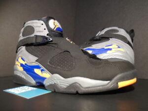 finest selection 36dfb 8acae Image is loading Nike-Air-Jordan-VIII-8-Retro-PHOENIX-SUNS-