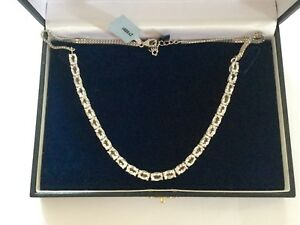 BNWT-Beautiful-Sterling-Silver-Itinga-Petalite-16-60-Carats-Necklace