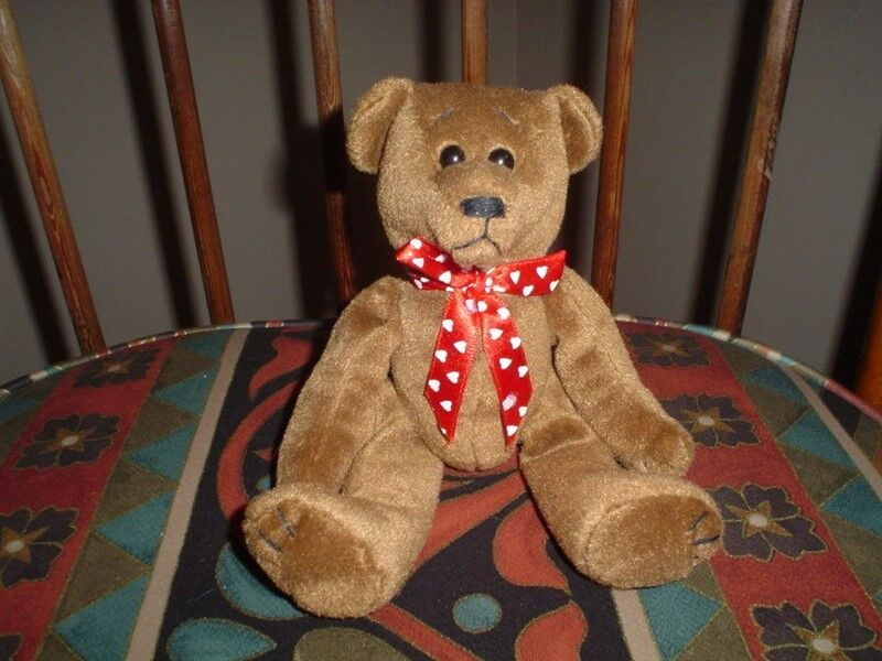 Ganz Teddy Bear Triple Chocolate Chocolate Chocolate HV2438 8 Inch 1997 Rare a85818