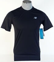 Balance Nb Dry Moisture Wicking Black Athletic Shirt Mens