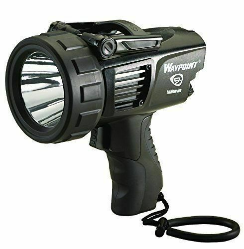 Yellow Streamlight 44910 Waypoint Rechargeable Pistol Grip Spotlight With Ac
