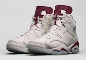 2015 Jordan White Off 6 Vi 384664 116 Nike Size 17 Retro Air 10 Maroon 5pqnRw8