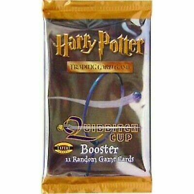 HARRY POTTER QUIDDITCH CUP CCG BOOSTER PACKS X1 BROOM COVER FACTORY SEALED NEW