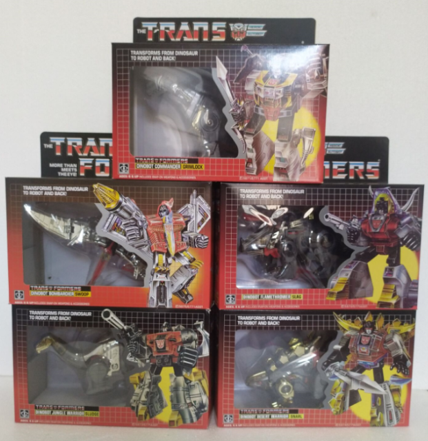 TRANSFORMERS G1 REISSUE DECEPTICON ASTROTRAIN MISB ACTION FIGURES BOX-PACKED