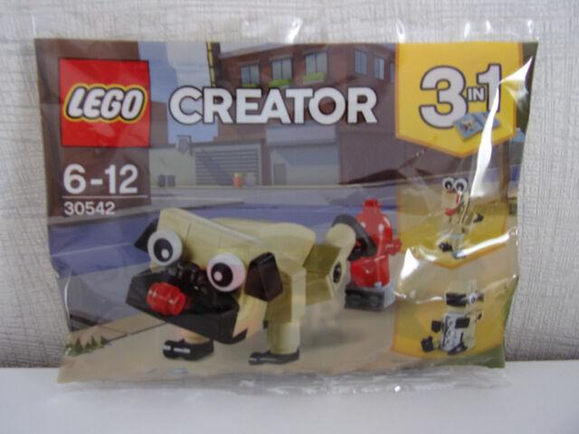 Lego Creator 3 en 1 30542 Lindo Pug Nuevo En Bolsa