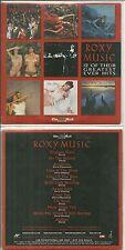 CD - ROXY MUSIC : Le meilleur de ROXY MUSIC / BEST OF