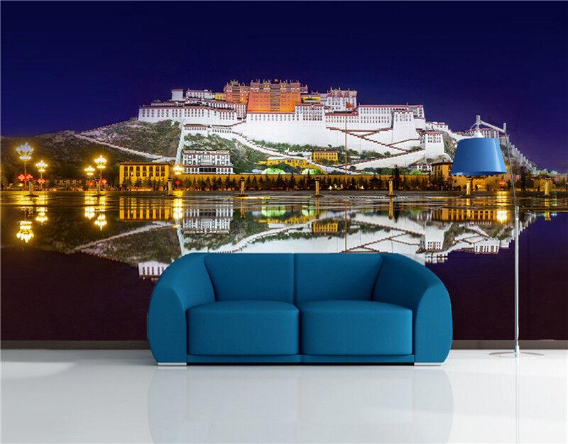 3D Potala Palast Gebäude 8943 Tapete Wandgemälde Tapeten Bild Familie DE Lemon