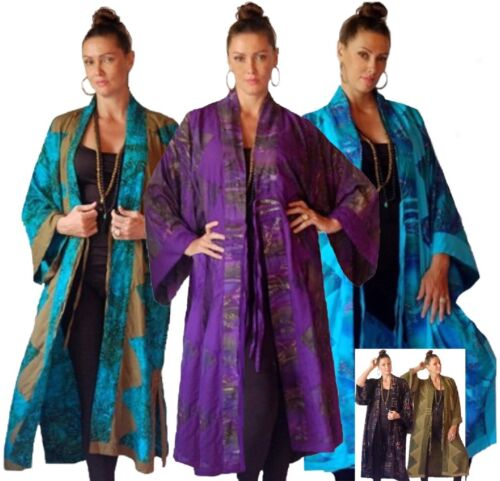 Order Made Fashion Kvinders Kimono Jacket Rayon H736 Slips Batik To Lotustraders RwPaq