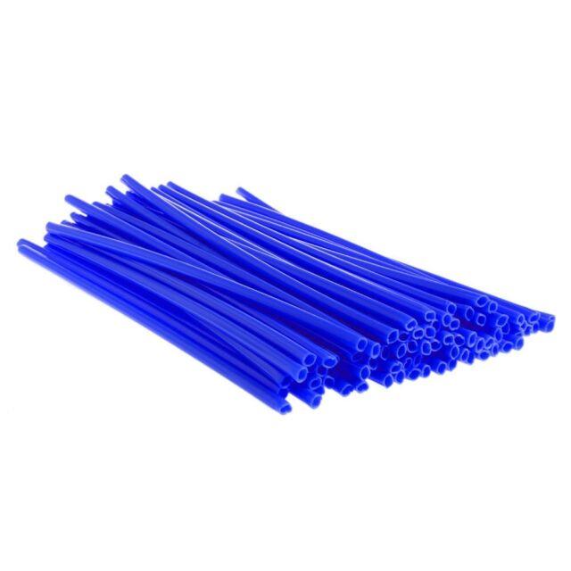 72x Blue SPOKE WRAPS SPOKE COATS SPOKE COVERS 4 KTM CRF YZF HUSQVARNA RMZ KXF