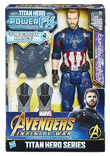 Hasbro Marvel Avengers - Infinity War Captain America Titan Hero Power FX 30 Cm