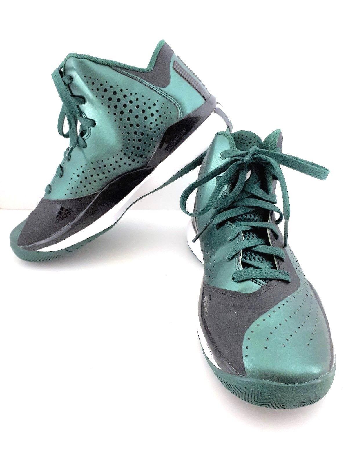 DRose Derrick Rose 773 III Adidas Sprint Web Green / Black Size 5.5 NWOT