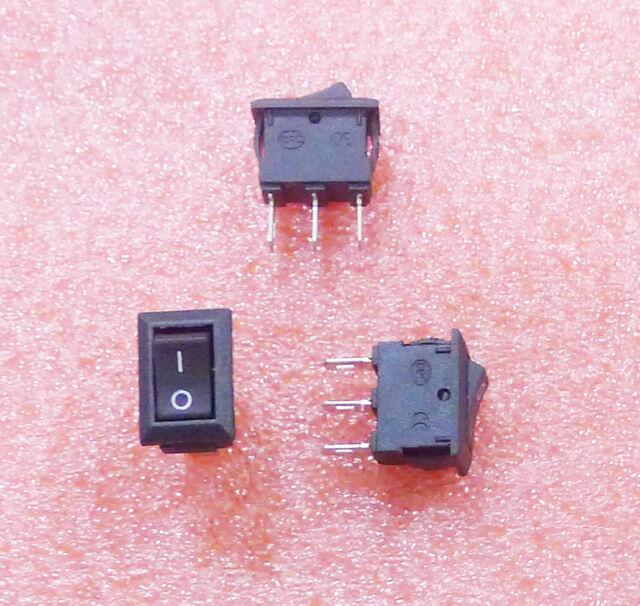 10XRocker Switch 3P SPDT On/Off/On Boat Rocker Switch  Hot Sale  250VAC/3A Hot