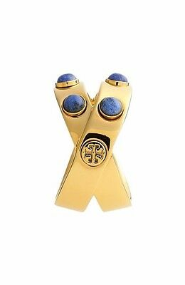 NWT Tory Burch Double Wrapped Embellished Ring NEW Size 6
