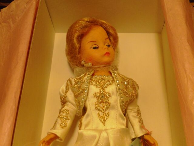 "Madame Alexander Orange Dress Gown Labeled Jasmin 9 /"" Doll Mint Condition"