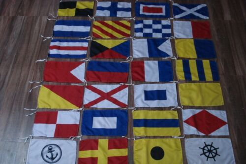 Set of Total 40 flag with CASE COVER FLAG International Maritime Signal Flags