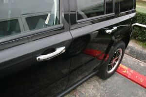 Image Is Loading 07 2016 Jeep Patriot Chrome Door Handle Mirror