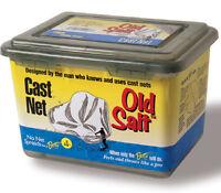 Betts 8pm Old Salt Fishing Bait 8 Ft Casting Net