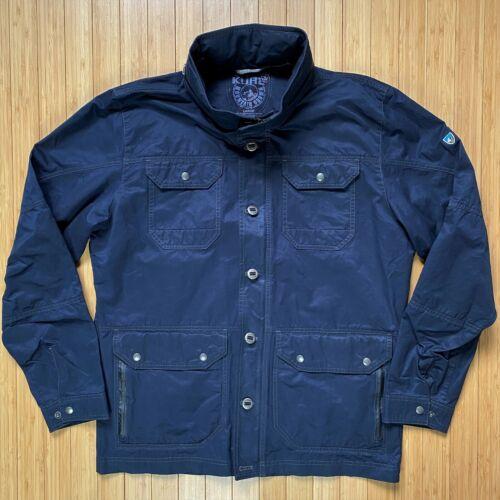 Men's Kuhl Kollusion L Large Navy Blue Jacket Fiel