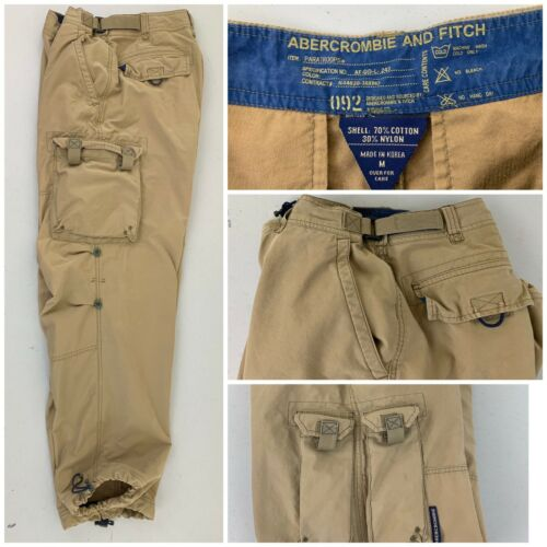 Vintage Abercrombie and Fitch Mens Paratroop  Mili