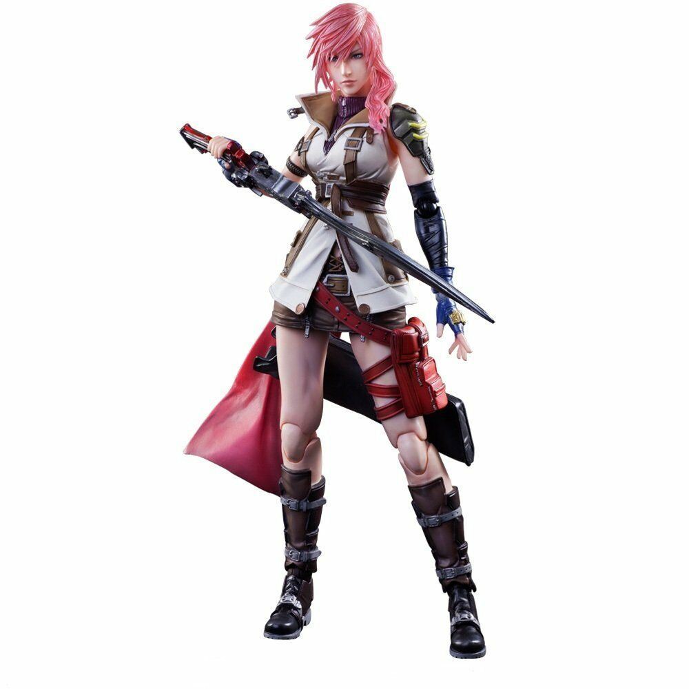 SQUARE ENIX DISSIDIA FINAL FANTASY PLAY ARTS Kai Lightning Action Figure