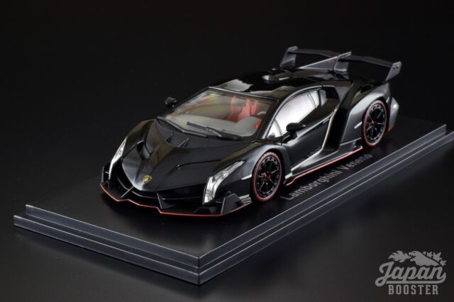 Kyosho Ks05571bkr 1 43 Lamborghini Veneno Black Red Line For Sale