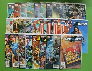 New-X-Men-Academy-X-1-27-Yearbook-VG-VF-Marvel