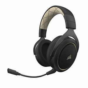 Corsair-HS70-SE-Gaming-Headset-Kopfhoerer-7-1-Surround-kabellos-fuer-PC-PS4-beige