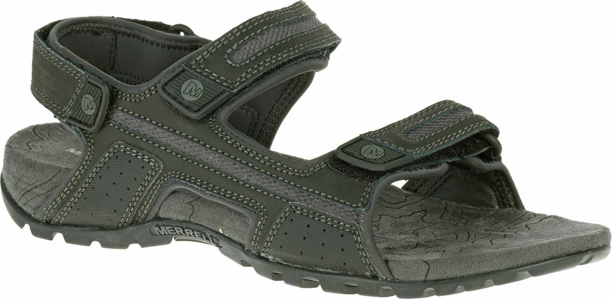 MERRELL Sandspur Oak J276754C Outdoor Hiking Sport Sandals Mens New All Größe New