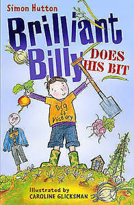 Very-Good-Hutton-Simon-Brilliant-Billy-Does-His-Bit-Paperback-Book