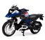 Maisto-1-18-2017-BMW-R1200GS-Bicicletta-Moto-modello-diecast-Toy-PENNINO miniatura 2