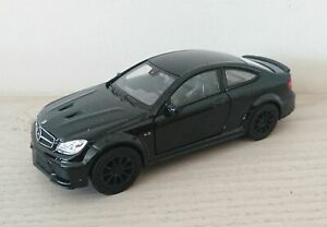 Mercedes-Benz-C-63-AMG-Coupe-Black-Series-Diecast-Escala-Modelo-de-Coche-1-38-Negro-Nuevo