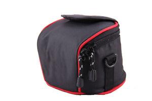 Ligero Cámara Hombro caso Bolsa para Canon PowerShot G3X G1X MarkII SX430IS