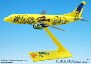 Die-Simpsons-Boeing-737-800-1-200-NEU-B737-Homer-Bart-Western-Pacific-The-N949WP