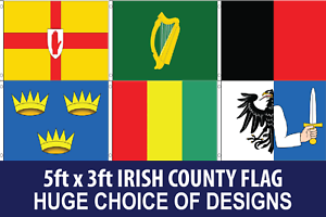 5ft X 3ft Flag 75d Polyester PREMIUM Quality CHOICE of Design FREE UK Delivery