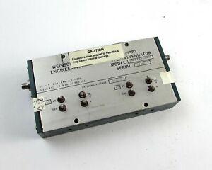 Weinschel-SMA-Binario-Paso-Atenuador-AD-142-30-11-10dB-Pasos-hasta-30-DB