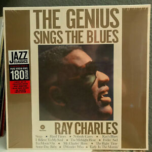 RAY-CHARLES-The-Genius-Sings-The-Blues-12-034-Vinyl-Record-LP-SEALED