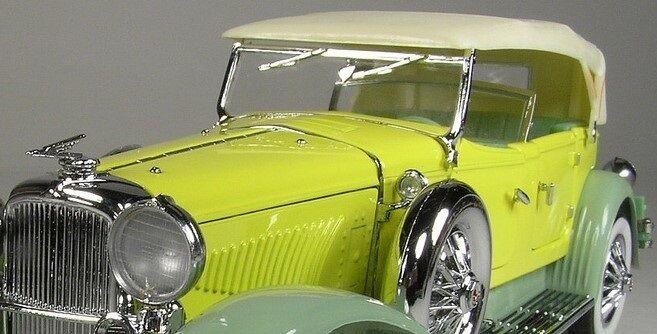 wholesape barato 1 1930s 1930s 1930s Auburn Cable Duesenberg 24 exótico Vintage Antiguo coche Raro 12 concepto 18  edición limitada en caliente