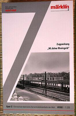 Märklin 81332 Z Zugpackung * 90 Anni Rheingold * - Nuovo-mostra Il Titolo Originale