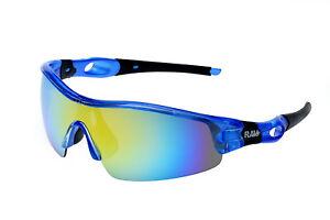 Kitesurf Sportbrille Kitebrille Sonnenbrille von  RAVS  Glas bi color gespiegelt