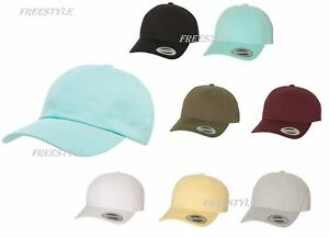 c56e91d7416 New for 2018! Yupoong Peached Unstructured 100%Cotton Hat Twill Dad ...
