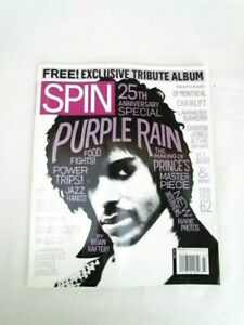 Details about Prince 25th Anniversary Purple Rain Spin July 2009 Rare NEW  Mint Condition