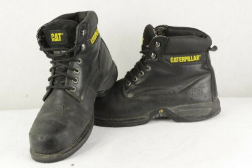 Work 9uk Wear Leather P82 Pizzo Mens in Ups punta Caterpillar Boots acciaio 1xwT68q
