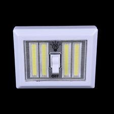 2017 4 Cob Led Light Switch Wall Night Lights Battery Operated